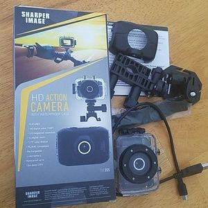 Hd Action Camera With Waterproof Case Poshmark